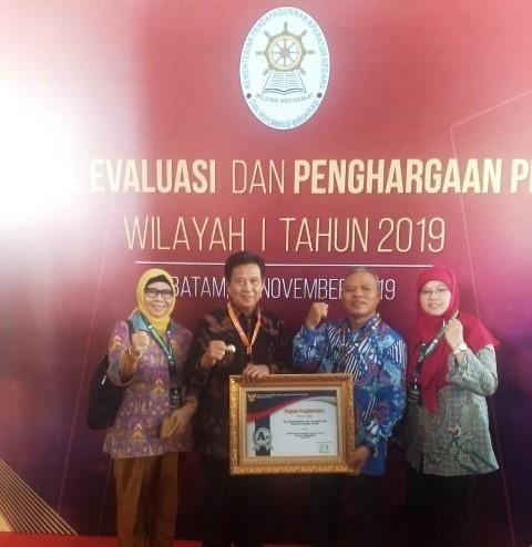 Keempat Kalinya, Pemkab Bateng Kembali Raih Penghargaan Pelayanan Publik di Tahun 2019