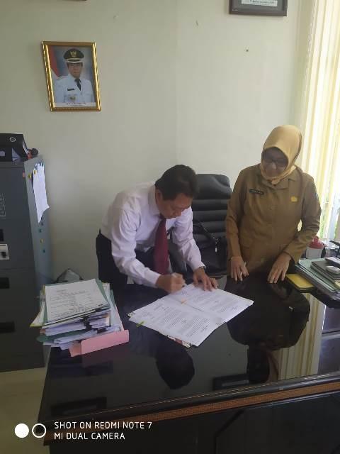 Penandatanganan PKS KSWP KPP Pratama Bangka